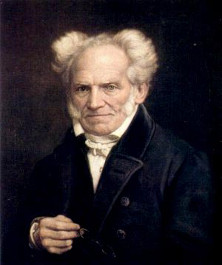 Portrait of Arthur Schopenhauer by Jules Lunteschütz, ca. 1855 • Source/photographer unknown
