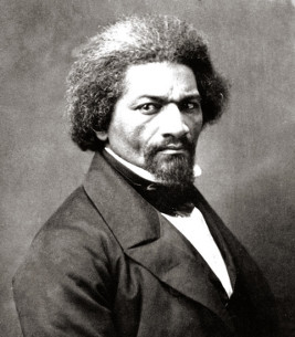Frederick Douglass, ca. 1866 • Photographer unknown; from the Collection of the New York Historical Society