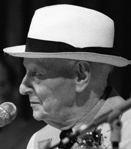 Isaac Bashevis Singer, 1988 • Photo by MDCarchives