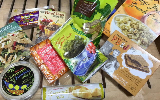 Trader Joe's and other grocery chains carry a wide assortment of veganized versions of your favorite foods