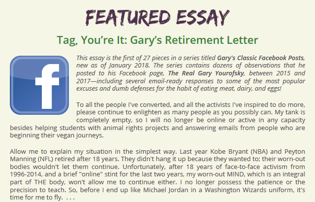 Click here to read the featured essay