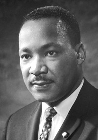 Martin Luther King, Jr. (1929-1968) • Photographer unknown • Public-domain image courtesy of Wikimedia Commons • https://commons.wikimedia.org