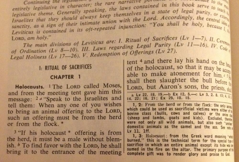 Leviticus 1:1-10