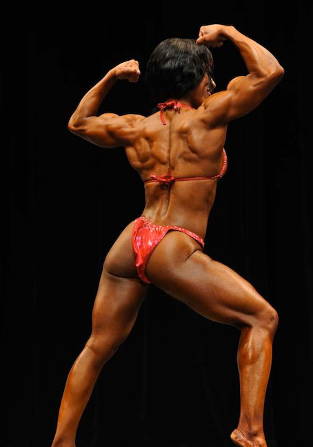 Jehina Malik, awesome bodybuilder, lifetime vegan • Click here for more info